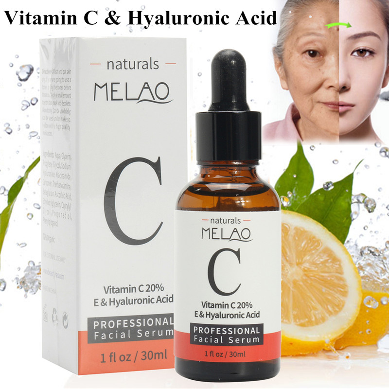 Vitamin C E Hyaluronic Acid Youthful Skin Care Facial Cream Smoother Beauty Toiletry Kits  Accessories Health