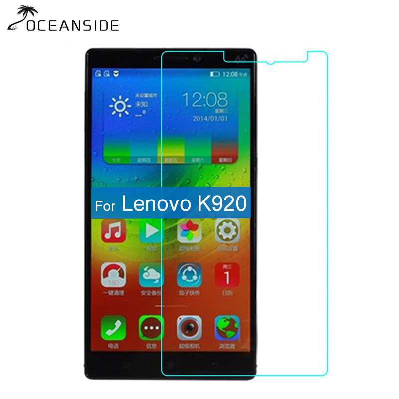 9H 2.5D Vibe Z2 Pro K920 Tempered Glass Screen Protector For Lenovo K920 K 920 Dual SIM 4G LTE Anti-explosion Glass Film