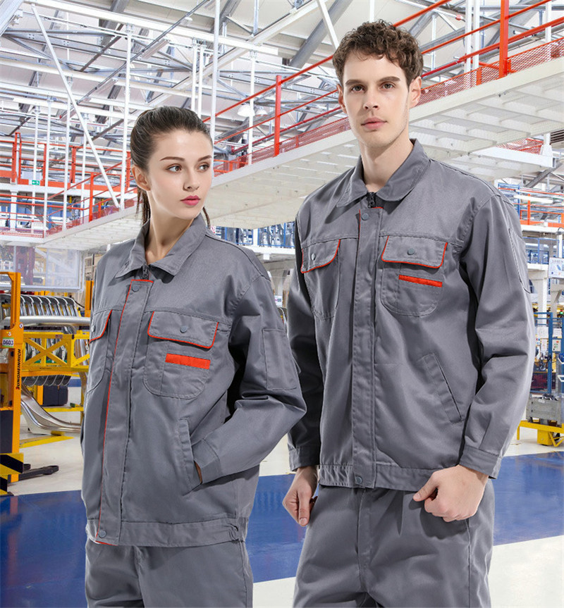 Top Quality Working Outfit For Company Workshop Factory Construction Logistic Warehouse Worker Free Logo Printing & Shipping