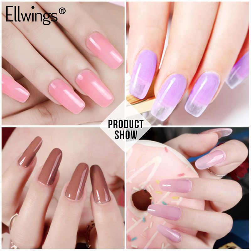 Ensemble d'extensions d'ongles Ellwings vernis à ongles UV vernis à ongles vernis à ongles vernis à ongles UV outil de manucure Gel
