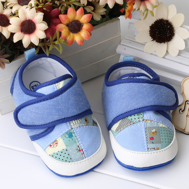 Newborn Fabric Baby Booties Shoes First Walker Toddler Moccasins Sapatos Infatil Baby Boy Girl Infant Shoes Items 703061