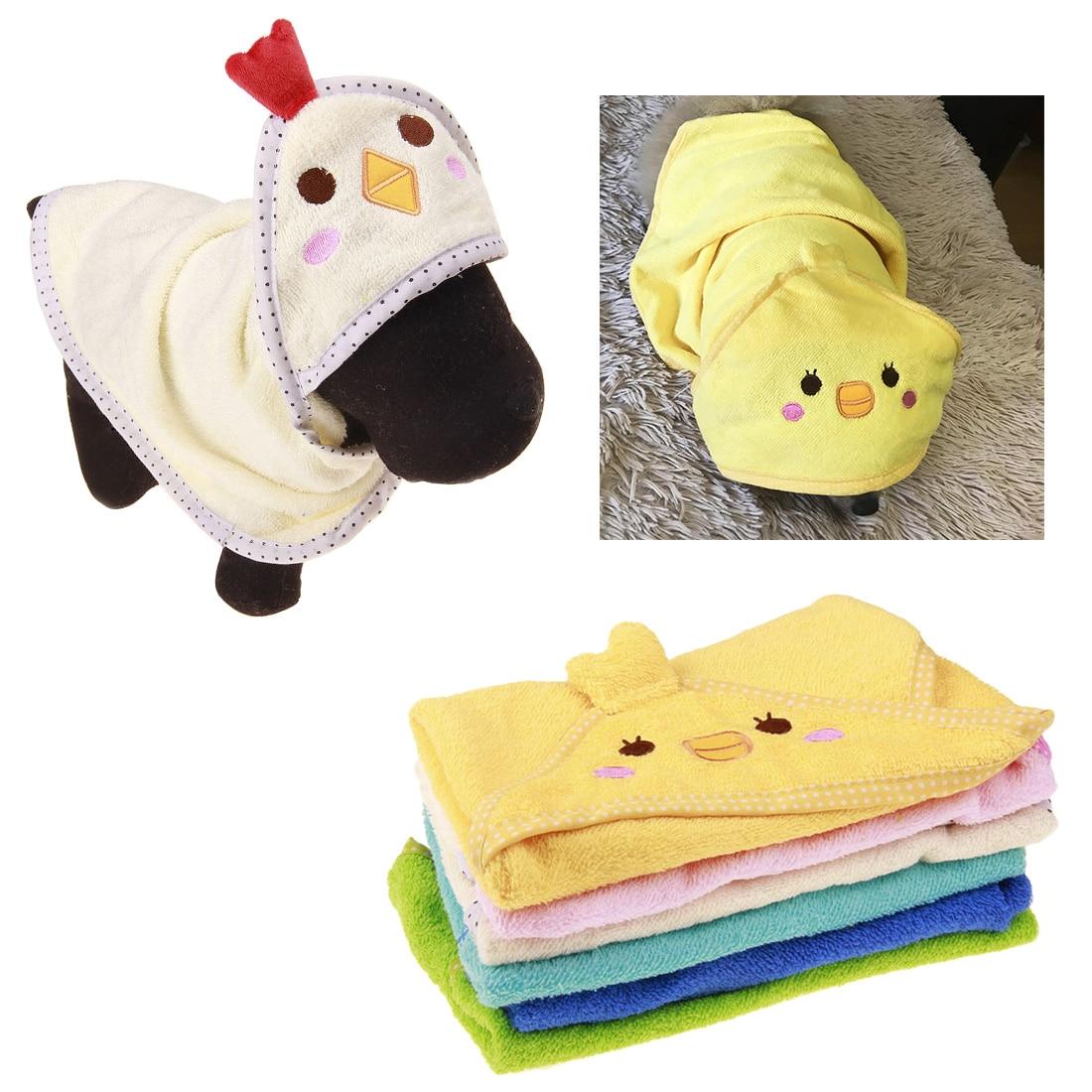 New Develop Pet Dog Cartoon Animal Bathrobes Bath Towel Puppy Cat Washing Accesorios Dogs Pets Accessories