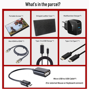 Image 5 - 15.6 polegada ultrafinos usb tipo c hdmi monitor de tela sensível ao toque portátil gaming monitor para o telefone portátil xbox switch e ps4