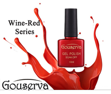 Gouserva12Colors Wine Red Series Gel Polish 10ml Magnet Stick Soak Off uv gel nail polish Magnetic Gel Lucky Lacquer nail Gel