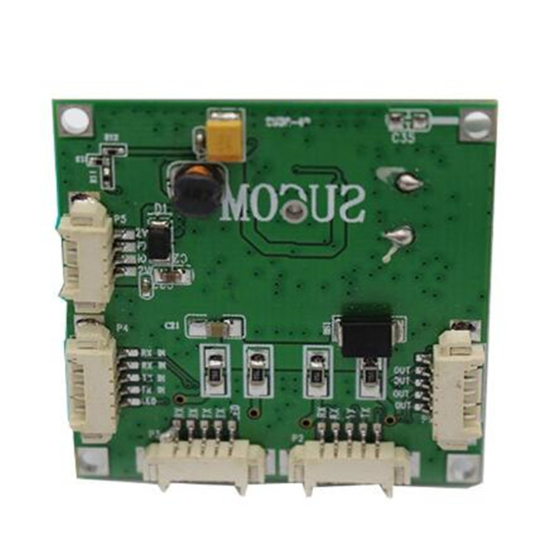 Image 2 - Mini PBCswitch module PBC OEM module mini size 4 Ports Network Switches Pcb Board mini ethernet switch module 10/100Mbps OEM/ODM-in Network Switches from Computer & Office