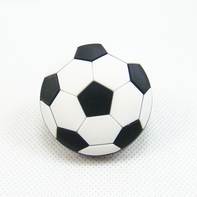 Black Football Children Room Cabinet Door Knobs Drawer Pull Kids ...
