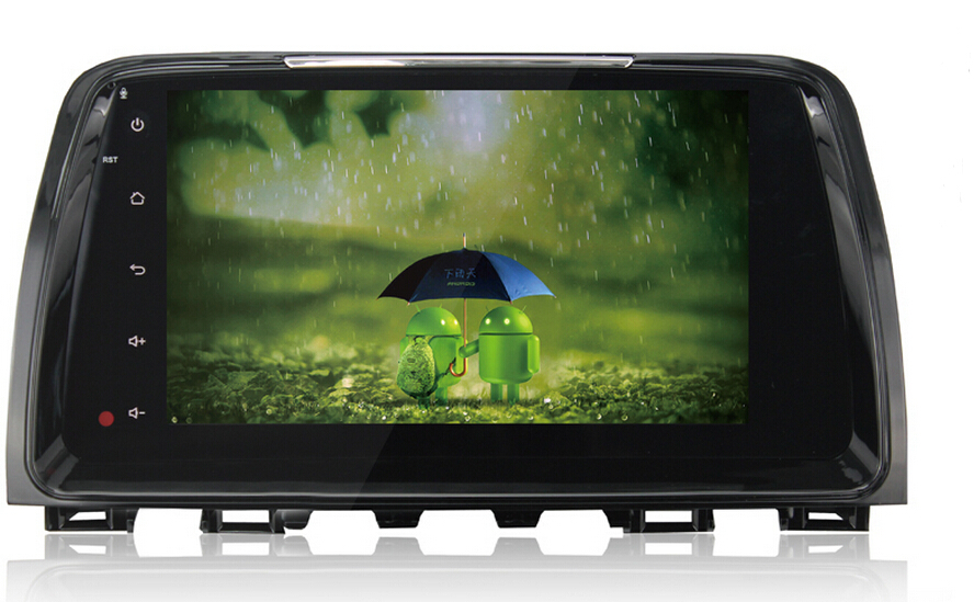 9 android 4 4 car autoradio gps stereo sat navi for mazda. Black Bedroom Furniture Sets. Home Design Ideas
