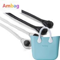 1 Pair Leather Rope Handles For Obag Accessories DIY Women S Bags Shoulder Bag Handbag Handle