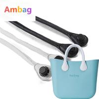 1 Pair Pu Leather Rope Handles For Ambag Accessories Diy Women's Bags Shoulder Bag Handbag Handle Size Classic bags obag handles