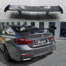 F82 M4 GTS style carbon fiber rear spoiler car trunk lip auto boot wing for BMW only styling accessories