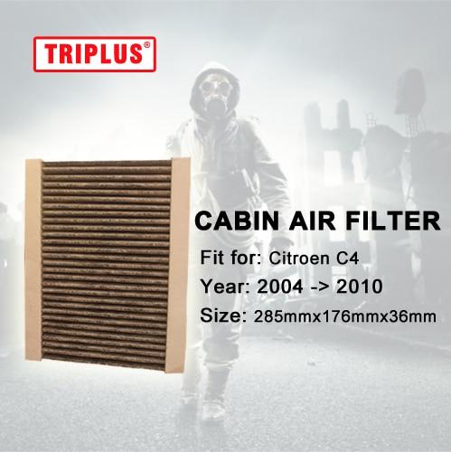 cabin air filter for citroen c4 hatchback 2004 2010 1pc. Black Bedroom Furniture Sets. Home Design Ideas