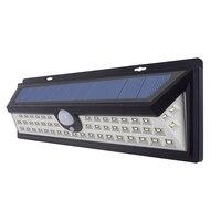 Outdoor 54 LED Solar Powered Light Bulb PIR Motion Sensor 3 Mode Waterproof Garden Street Pathway