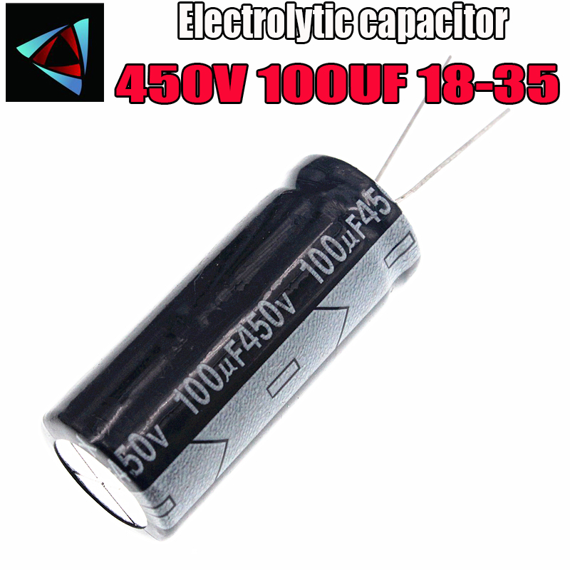 Higt Quality 450V 100UF 18-35mm 100UF 450V 18*35 Electrolytic Capacitor