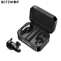 Blitzwolf BW FYE1 Bluetooth V5.0 TWS True Wireless Sport Earphone Headphone Earbuds Hi Fi Stereo Dual Microphone w/ Charging Box