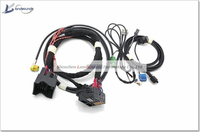 Landsounds 5 8 6 5 8 inch GPS Refitting Cable CD MIB Adapter Cable Harness for_640x640 mib 2 wiring harness mk3 vr6 wiring harness \u2022 buccaneersvsrams co  at soozxer.org