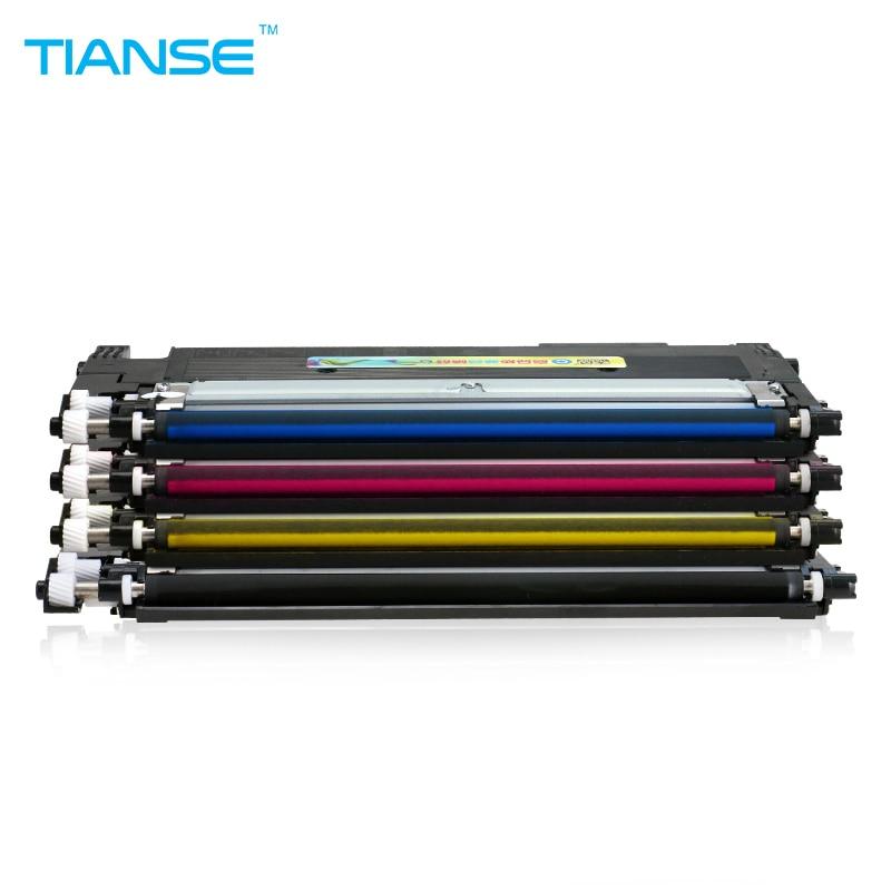 TIANSE CLT 406S CLT-K406S 406 K406S toner Cartridge for Samsung CLP-365W CLX-3305FW Xpress C410CW C460FW CLP 365W 366W Printer refill for samsung proxpress c 410 fw mltd4063 s clt k 4063 slc 412 w clt k 4062 els xaa xil see compatible new replacement