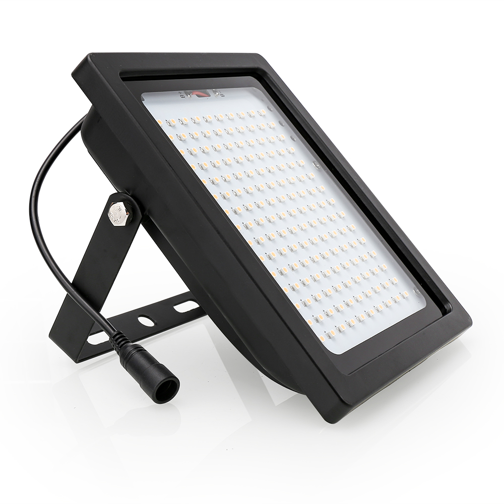150 leds luz solar pir sensor de