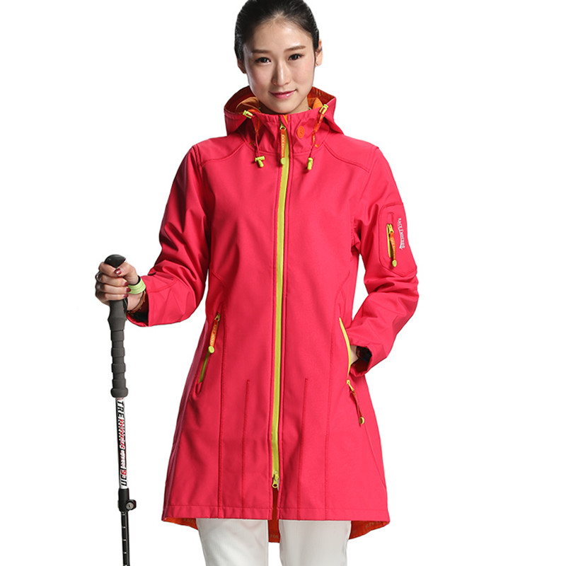 Spring Outdoor Camping Women Jackets Waterproof Quick Dry Plus Size Softshell Women Hiking Jackets Mountain China Shop Online climbing pants women quick dry breathable summer spring outdoor sport pants hiking camping fishing trousers china shop online