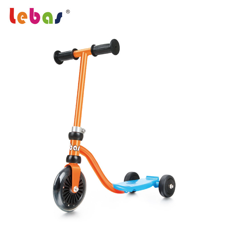 ФОТО Mini Kids Scooter for Children Outdoor Toys Three Wheel Kick Scooter for 1-3 Years Baby Slide Bicycle