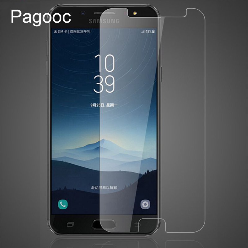 9H Tempered Glass On The For Samsung Galaxy J3 J5 J7 2016 2017 J2 J3 J4 J6 J7 J8 2018 Screen Protector Film Protective Glass