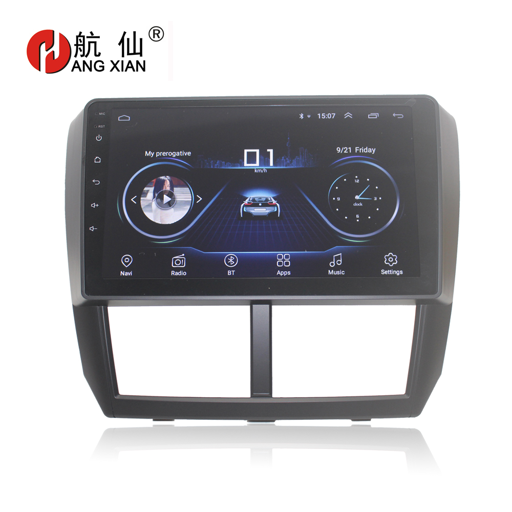 "Free shipping 9"" Quadcore Android 8.1 Car audio for Subaru forester Impreza 2008-2012 car dvd player gps navi bluetooth,wifi"