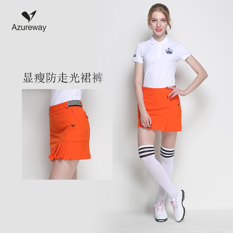 women golf skirt lady summer outdoor golf skorts female spring golf apparel breathable sports shorts slim skirts 3 colors s~xxl stylish women s ombre skirt