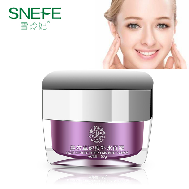 SNEFE Lavender Relieving Repairing Serum Skin Face Cream Soothing Damage Repair Moisture Essence Whitening for Sensitive Skin