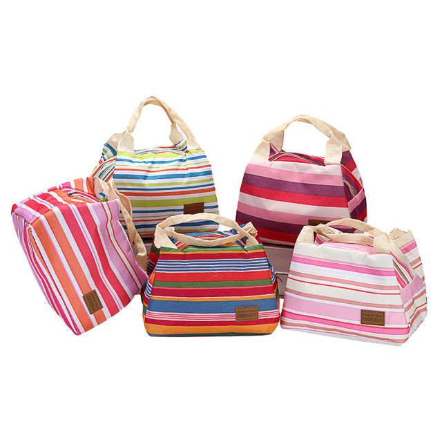 Storage Bag Organizer Thermal Insulated Lunch Boxes Tote Cooler Zipper Bag Lunch Pouch 2019 New Dropshipping Kitchen Accessories