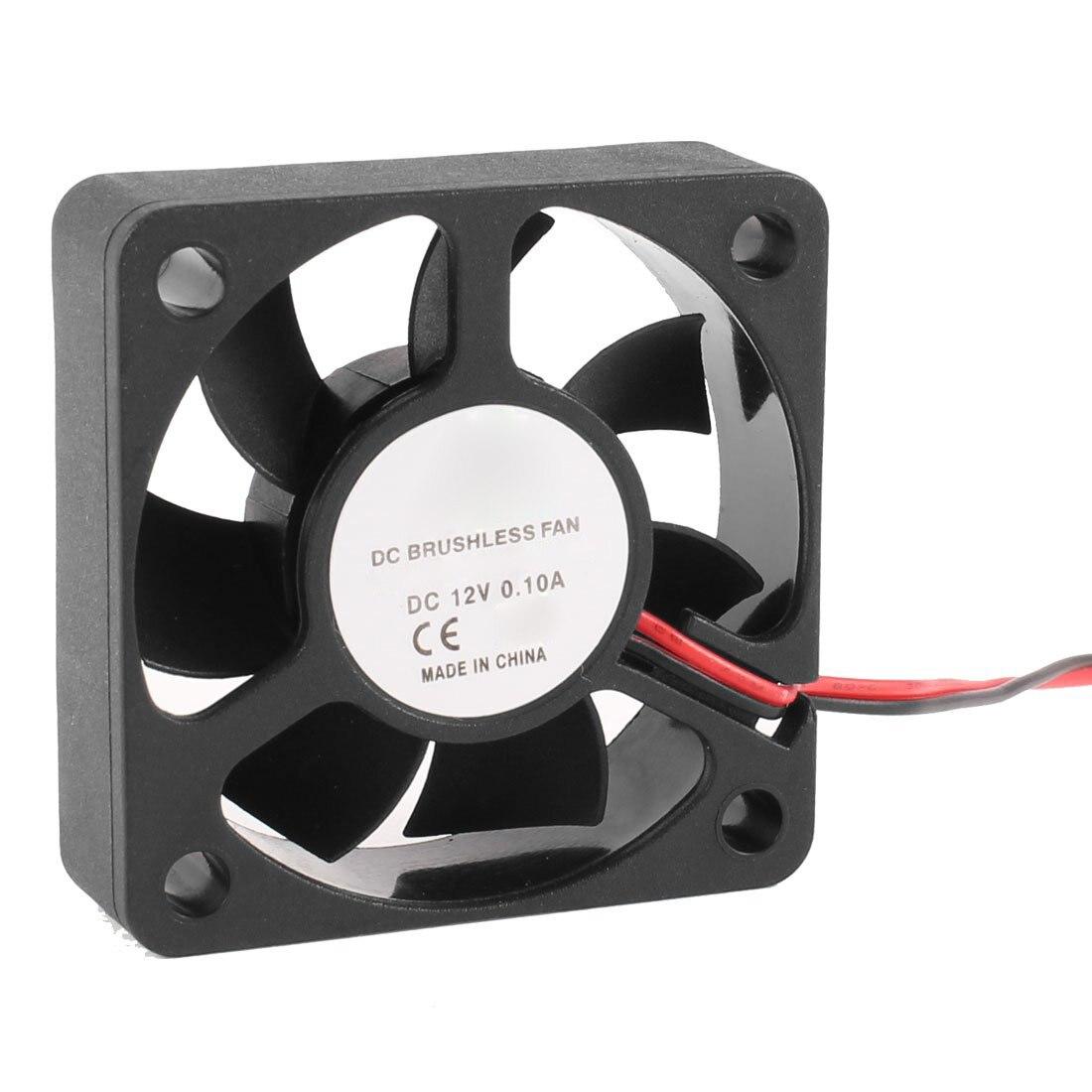 GTFS-Hot 50mm 12V 2Pin 4000RPM Sleeve Bearing PC Case CPU Cooler Cooling Fan 75mmx30mm dc 12v 0 24a 2 pin computer pc sleeve bearing blower cooling fan 7530 r179t drop shipping