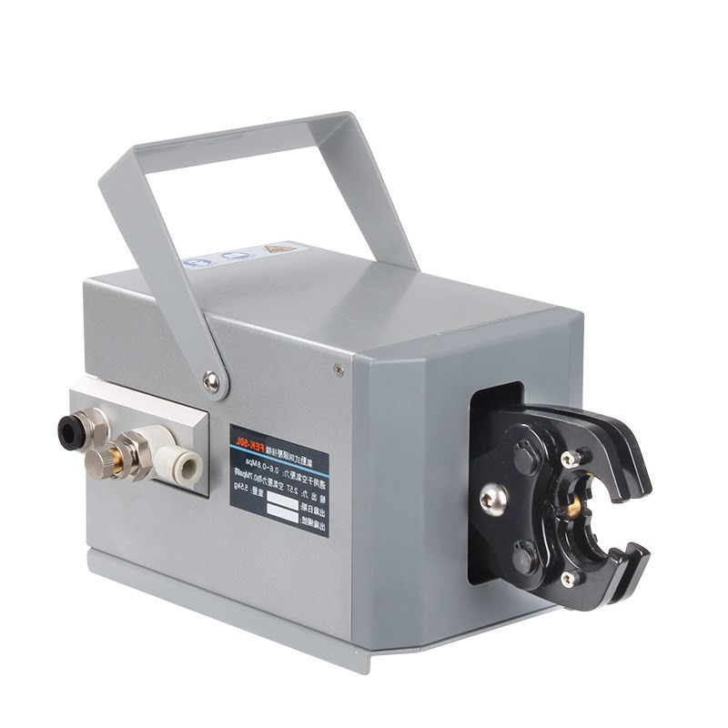 FEK-50L Pneumatic Crimping Tools crimpinig machine 40KN POWERFUL FORLARGE CONDUCTOR DIAMETERS ,LIGHT ONLY 8KG WITH CRIMPING DIESFEK-50L Pneumatic Crimping Tools crimpinig machine 40KN POWERFUL FORLARGE CONDUCTOR DIAMETERS ,LIGHT ONLY 8KG WITH CRIMPING DIES
