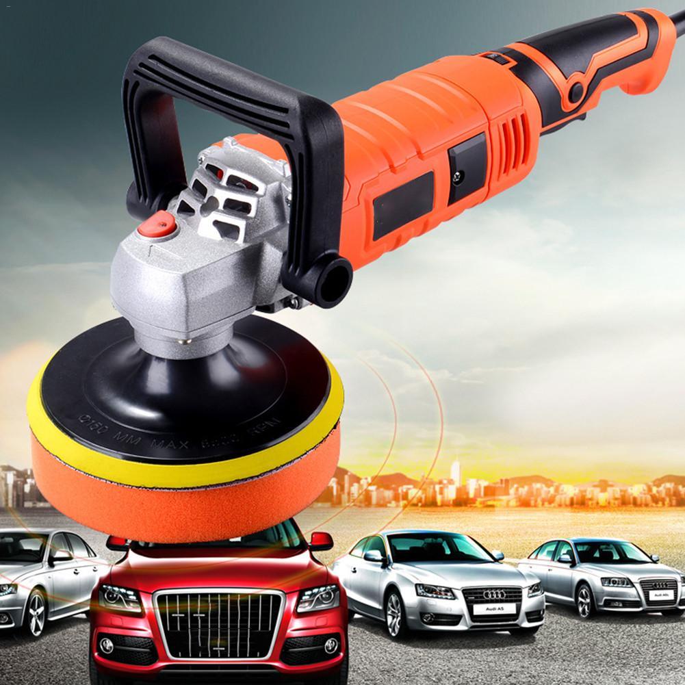 1580W 220V Mini Auto Polieren Maschine Grinder Polierer Schleif Maschine Orbit Polnischen Einstellbare Geschwindigkeit Schleifen Wachsen Power Tool
