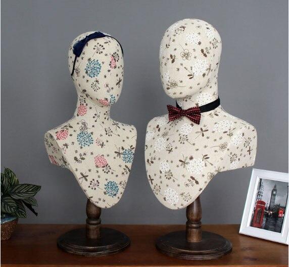 Meilleur Mannequin de tête de modèle de tête de tissu à la mode pour l'affichage d'écharpe