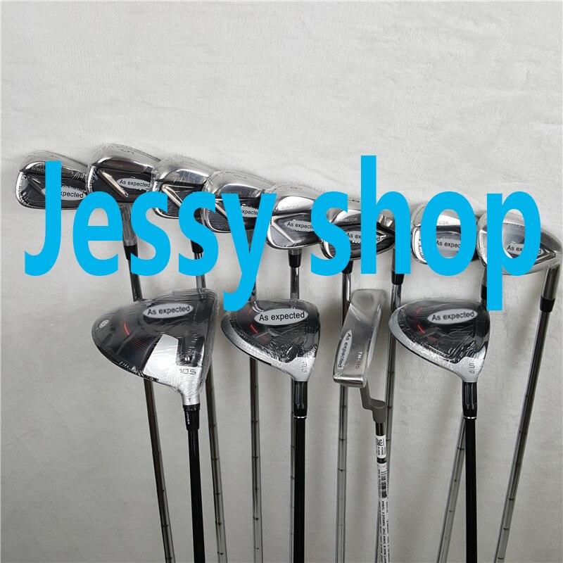 12 PCS M4 גולף סט שלם M4 גולף מועדוני M4 נהג + Fairway וודס + מגהצים + להתבטל גרפיט/ פלדה פיר עם ראש כיסוי לא תיק
