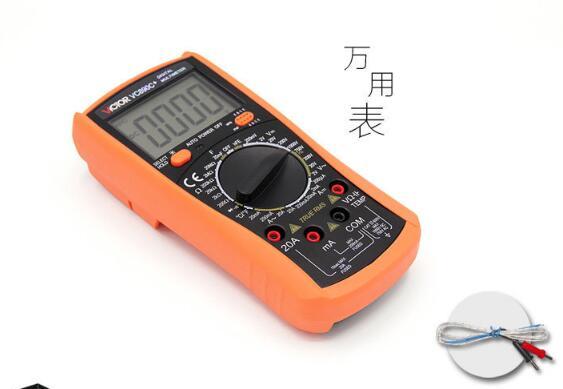 Multímetro Digital True RMS multímetro capacitor 2000