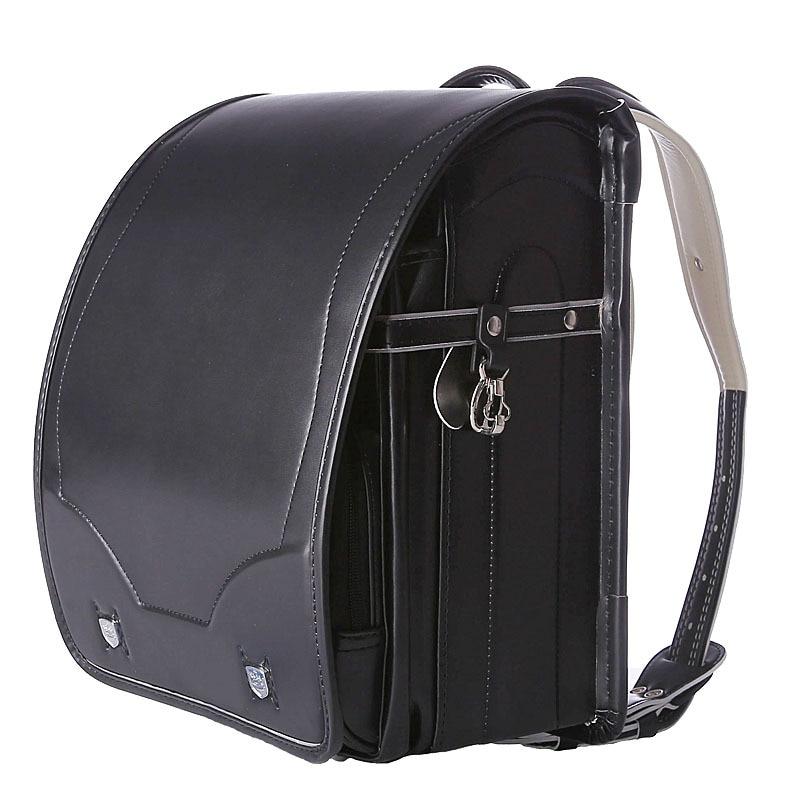 Sac à dos étudiant chaud PU sacs à dos orthopédiques sac d'école enfants sac à dos pour garçon et fille japon Randoseru Kid sac de livre solide