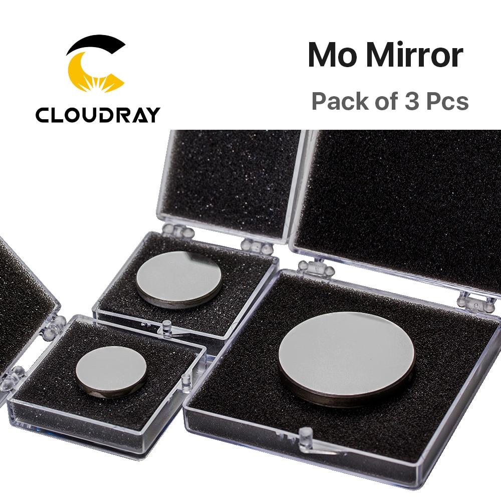 3 Pz Mo Diametro specchio 15 19,05 20 25 30 38,1 mm Spessore 3 mm per - Strumenti di misura - Fotografia 3