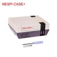 NESPi CASE+ Raspberry Pi 3 B+ Case Retroflag Nespi Case Classical Box Designed for Raspberry Pi 3 Model B + High Quality