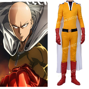 Hero Catcher High Quality Custom ONE PUNCH MAN Cosplay Costume ONE PUNCH MAN Suit