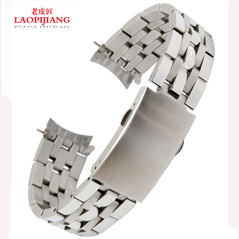 liaopijiang Stainless steel watchband chain apply T17 T461 T014 PRC200 Male fashion watch strap19mm 20mm ...