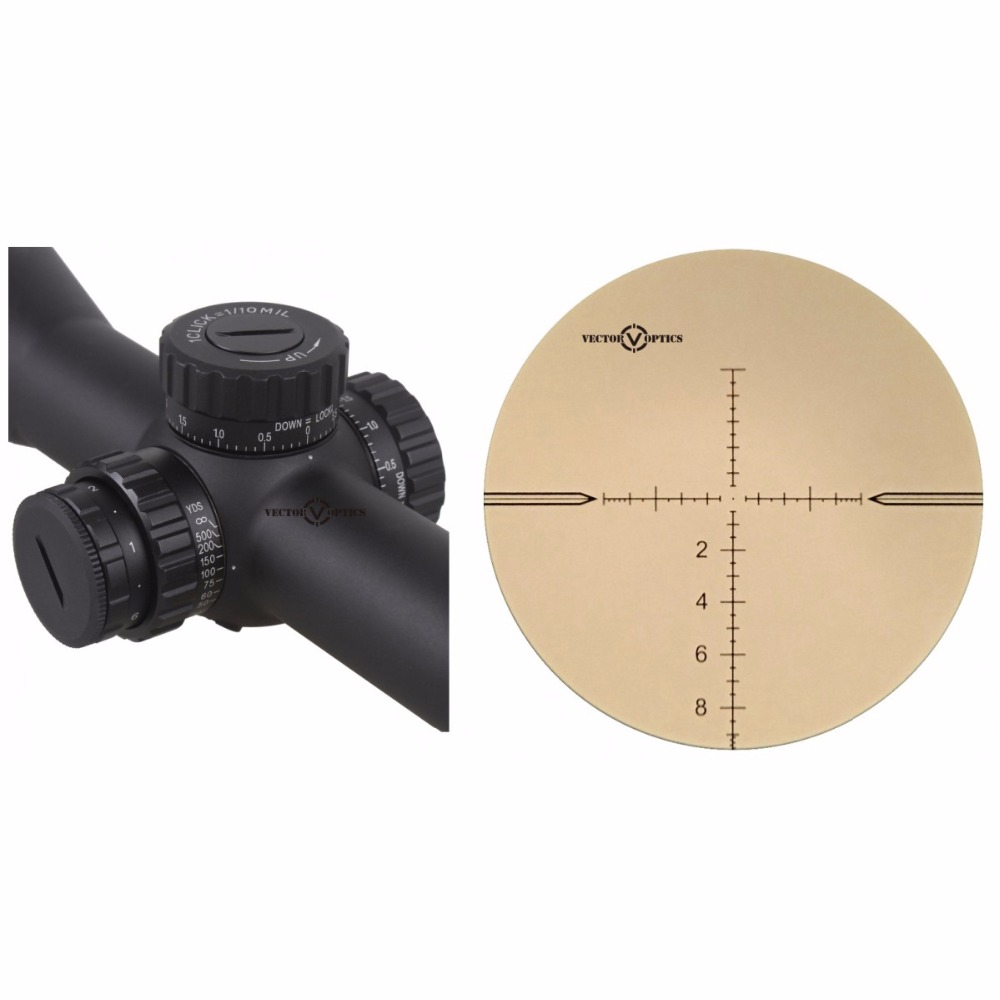 Image 5 - Vector Optics Taurus 3 18x50 FFP First Focal Plane Military Tactical Riflescope Reticle High Quality Hunting Scope 2017 Newhunting scopesfirst focal planefocal plane -