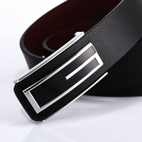 High Quality Pin Buckle Belt Genuine Leather Belts For Men Luxury Brand Strap Male Belt For
