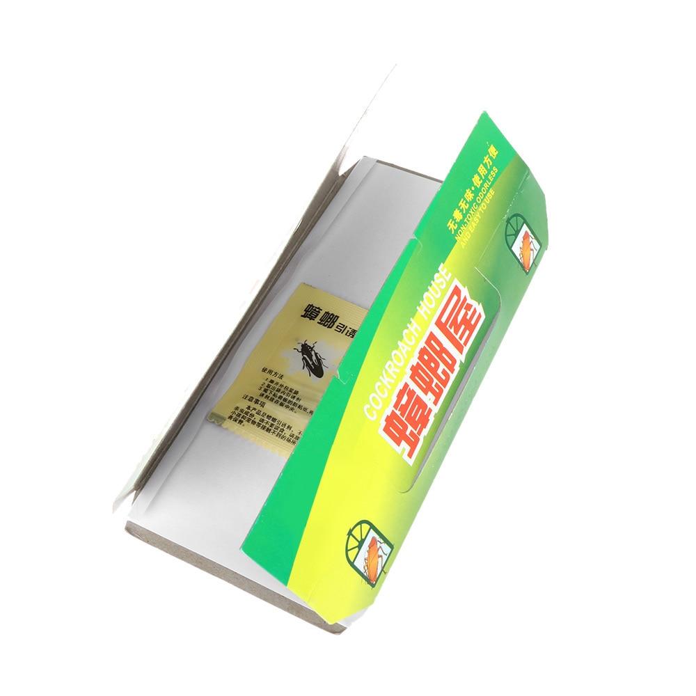 1Pc Eco-friendly Insect Repeller Killing Cockroach House Glue Sticky Bait NonToxic Capture Device Catcher Traps Pest Repellent