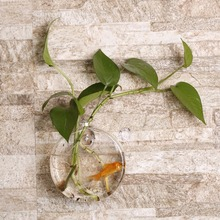 Формы прозрачный Подсолнух настенная подвесная гидропонная ваза контейнер растение цветок стеклянная бутылка домашний офисный, Свадебный декор