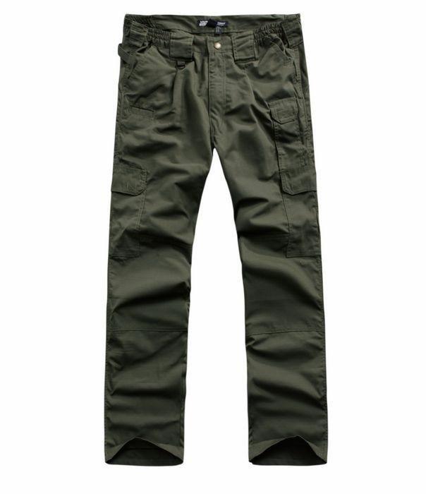 ФОТО Camping Fishing Hunting Travel Pants Amy Green Men's Ripstop Waterproof Pants Military Combat Long Pants Tactical Long Trousers