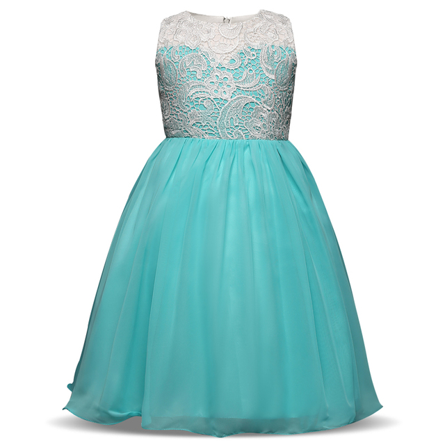 Top-notch Lace Princess Girl Dress
