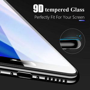 Image 4 - 25 PCS 9D Full Glue Curved Tempered Glass For iPhone 11 Pro Full Screen Protector Glass For iPhone XS XR Protective Film