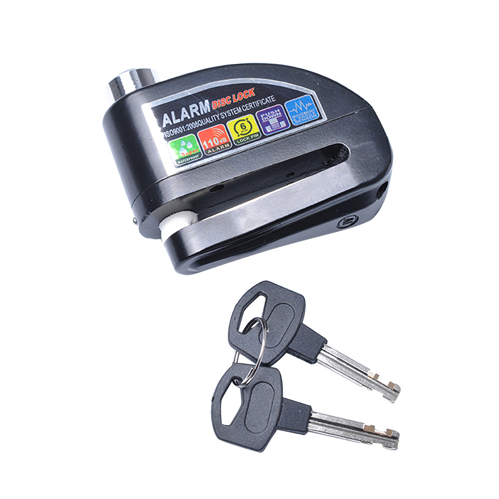 Waterproof Motorcycle Alarm Lock Bike Lock Security Motorbike Anti-theft Lock Moto Disc Brake Lock