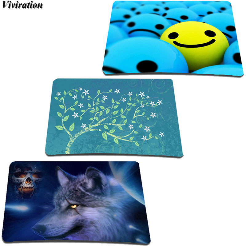Viviration Brand New Soft Computer Tablet Netbook Mouse Mat Pad 21*18*2cm Rubber Gaming Mouse Mat Pad 2018 New Arrival Mouse Mat