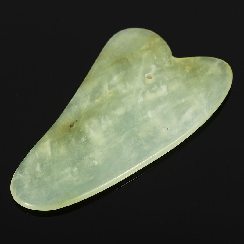 1PCS Gua Sha Body Facial Massager Scrape Chinese Treatments Natural Jade Scraping Care Humen Healthy Tool купальник lang sha 23 bikini