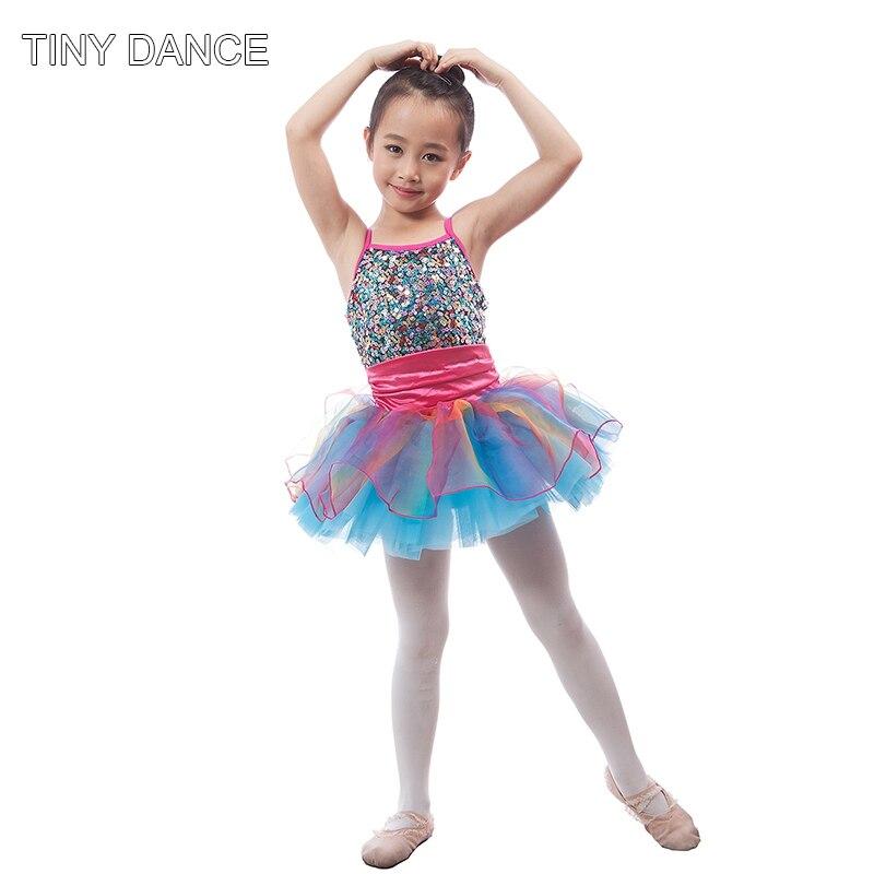 ecfca55c4 Kids Professional Dance Costume Ballet Tutu Jazz Dance Costume Girls ...